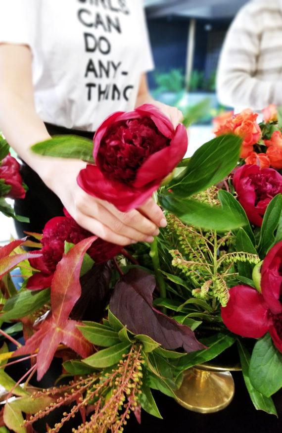 Olivia Culpo Flower Arrangements