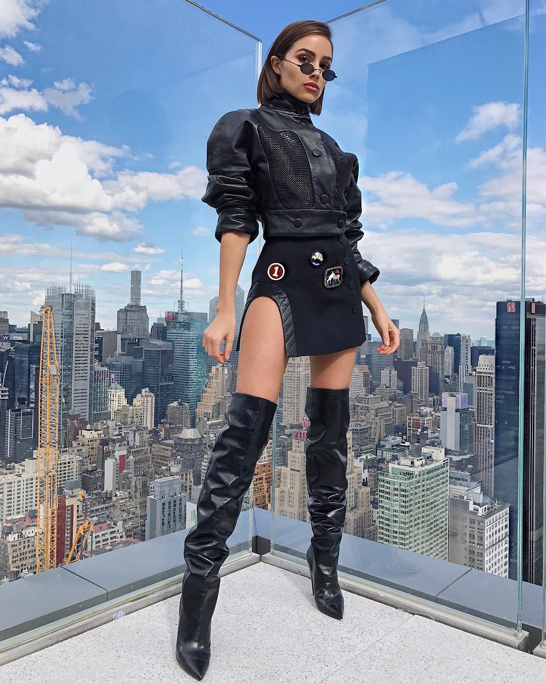 Olivia Culpo Ulyana Sergeenko Outfit