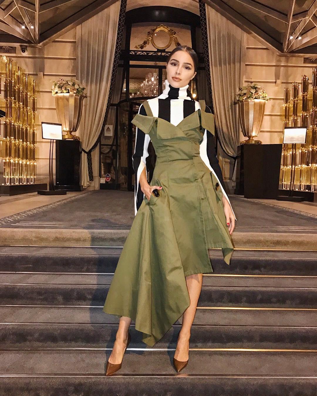 Olivia Culpo Monse Dress