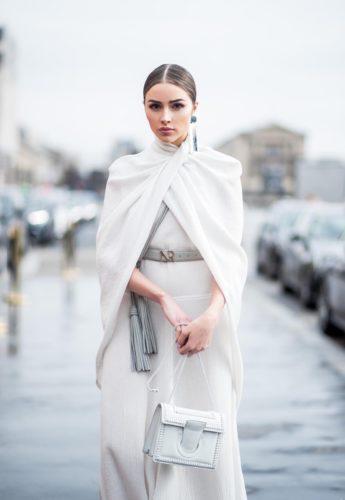 Olivia Culpo Fashion Week Trends Asymmetric Earrings