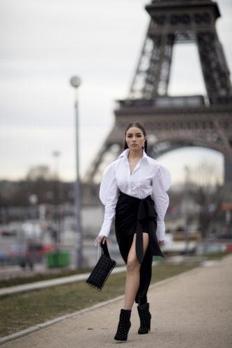 Olivia Culpo Paris Fashion Week FWRD