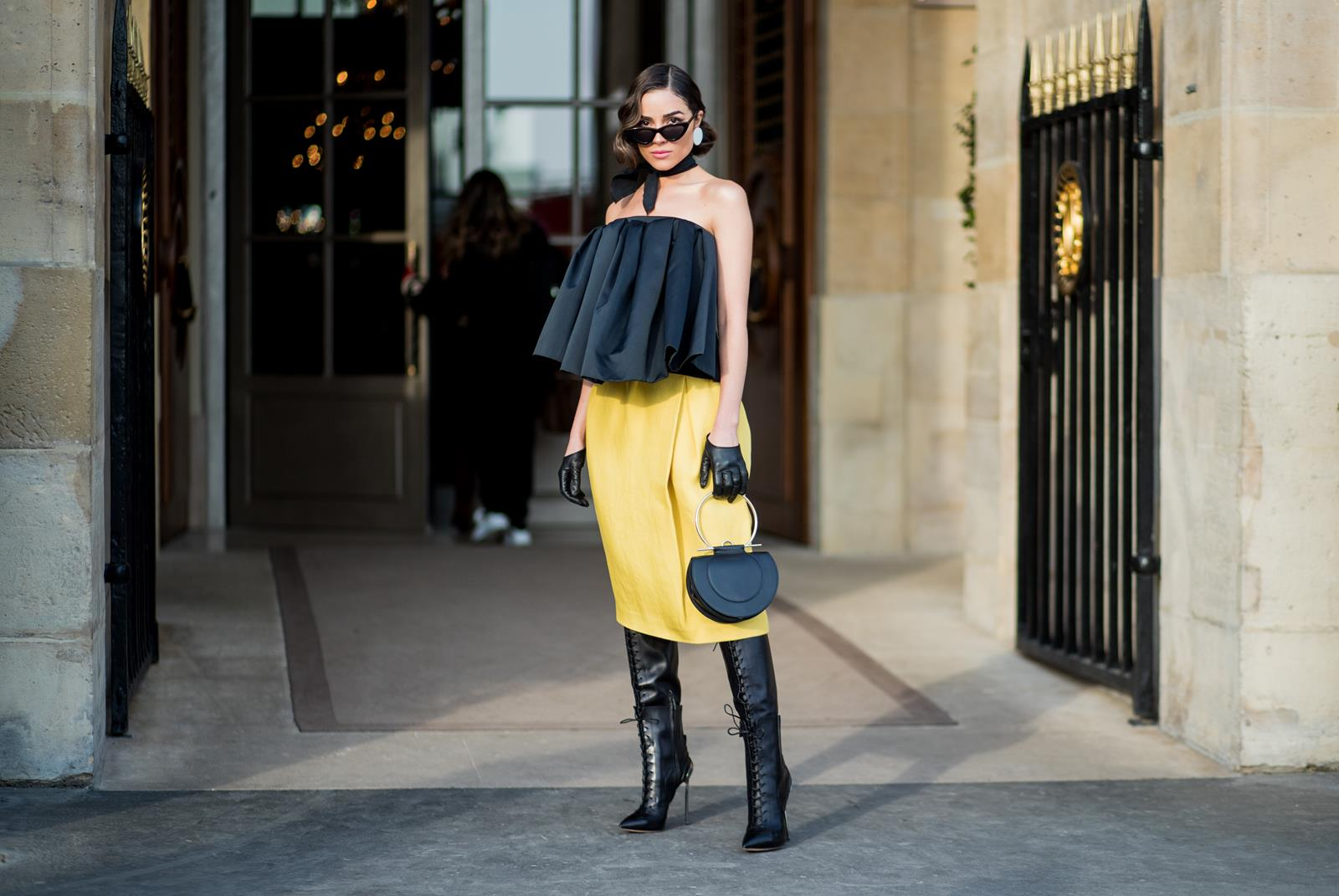Olivia Culpo Paris Fashion Week Rochas