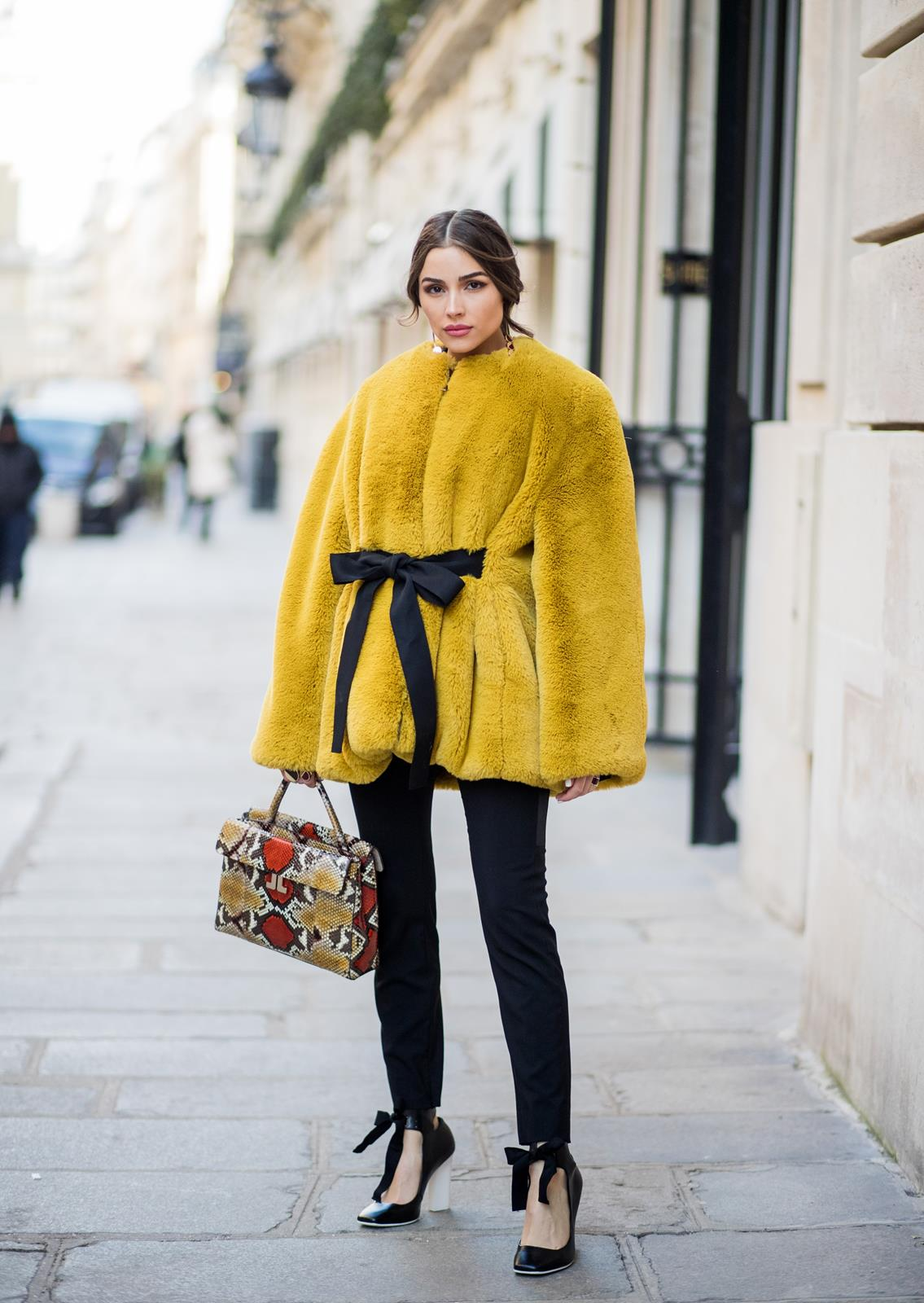 Olivia Culpo Paris Fashion Week Lanvin