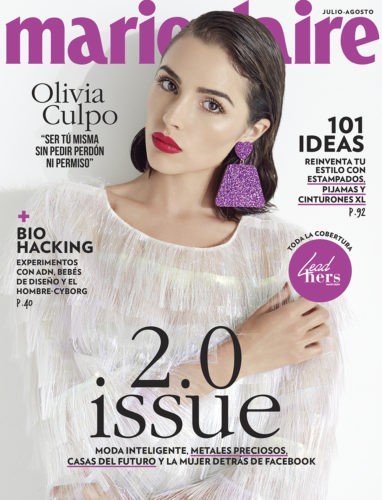 Marie Claire Mexico Cover