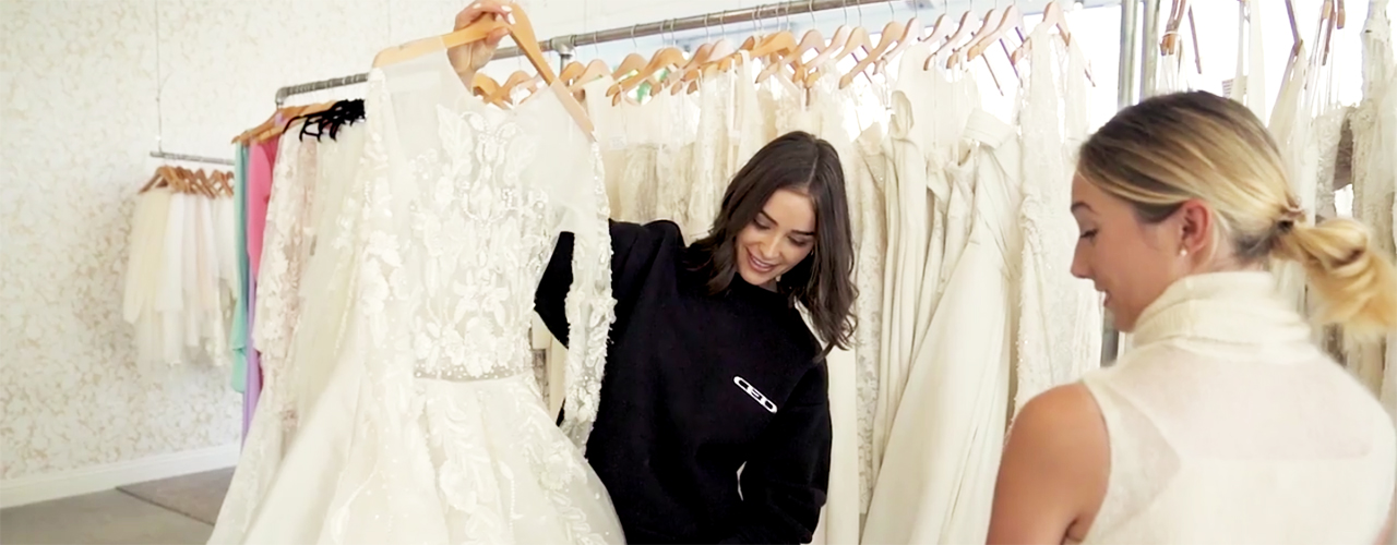 olivia culpo wedding dress shopping