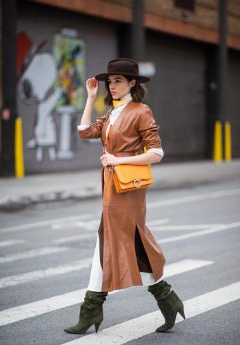 Olivia Culpo Fashion Week Sally LaPointe